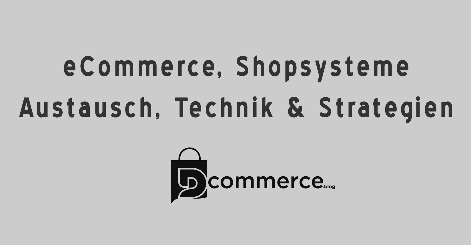 dCommerce Facebook Gruppe